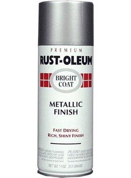 RUST-OLEUM CORPORATION BRIGHT COAT METALLIC ALUMINUM 11OZ