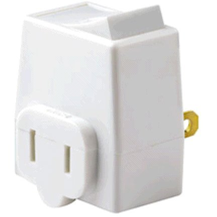 LEVITON PLUG-IN SWITCH WHITE - 01469