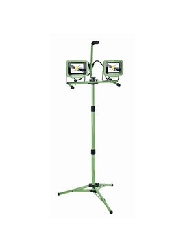 4200 Lumen Dual-Head LED Work Light with Tripod
