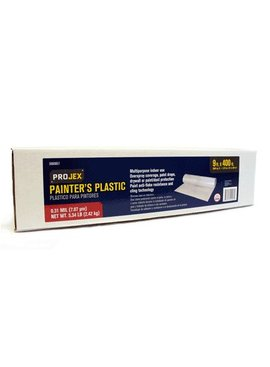 FG-27806-01 PROJEX CLEAR PAINTER'S PLASTIC HIGH DENSITY .31MIL - 9' X 400