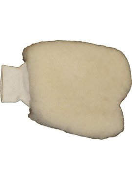 LAMBSKIN PAINTERS MITT W/ ONE  LATEX GLOVE