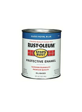RUST-OLEUM CORPORATION ROYAL BLUE PROTECTIVE ENAMEL QUART
