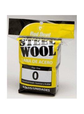 STEEL WOOL - FINE #0 8/PACK