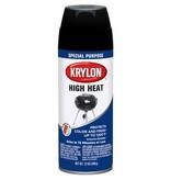 12 OZ KRYLON HIGH HEAT BLACK BBQ AND STOVE AEROSOL