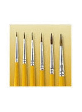 WOOSTER BRUSH COMPANY SIZE 3/0 WATER COLOR POINTED SABLE ARTISTS BRUSH