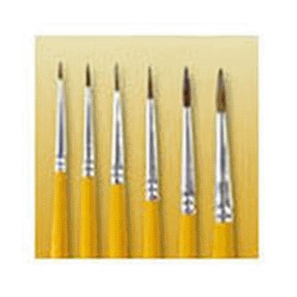 SIZE 0 WATER COLOR POINTED SABLE ARTISTS BRUSH