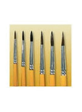 WOOSTER BRUSH COMPANY SIZE 6 WATER COLOR POINTED CAMEL ARTISTS BRUSH