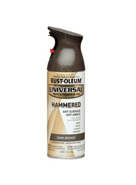 RUSTOLEUM 12OZ DARK BRONZE HAMMERED UNIVERSAL ALL SURFACE SPRAY