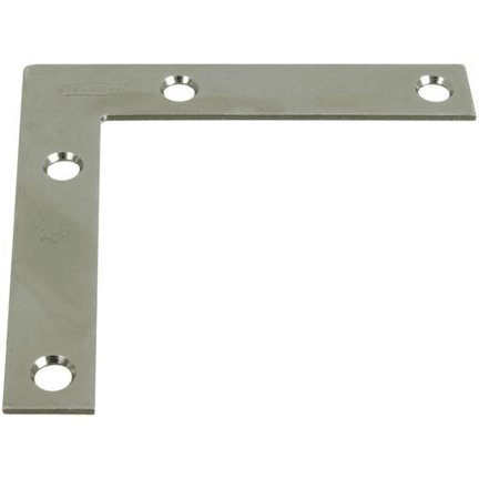 "3-1/2"" X 5/8"" ZINC PLATED CORNER BRACES - QTY/PK 4"