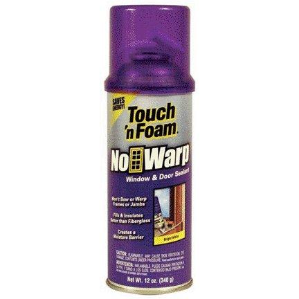 DAP TOUCH 'N FOAM NO WARP WINDOW & DOOR INSULATING SEALANT 12 OZ
