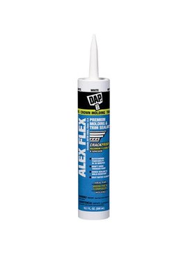 DAP ALEX FLEX  WHITE  SEALANT 10.1 OZ