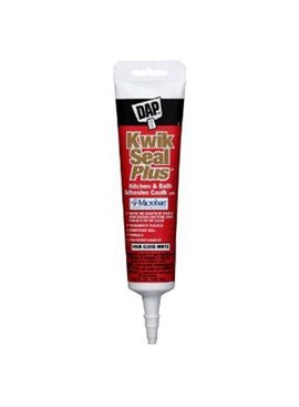 KWIK SEAL PLUS WHITE  KITCHEN & BATH CAULK 5.5 OZ