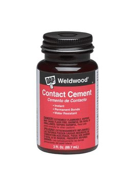 DAP WELDWOOD CONTACT CEMENT 3 OZ
