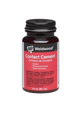DAP WELDWOOD CONTACT CEMENT 3 OZ