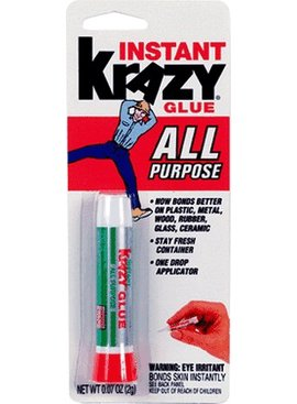ELMER'S KRAZY GLUE KG-585 ALL PURPOSE INSTANT GLUE 2 GRAMS