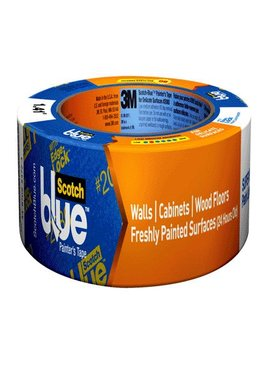 1.5''X60YD SCOTCH BLUE PAINTERS MASKING TAPE FOR DELICATE SURFACES