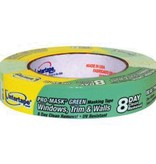 INTERTAPE 1 1/2'' GREEN PRO-MASK TAPE - ROLL