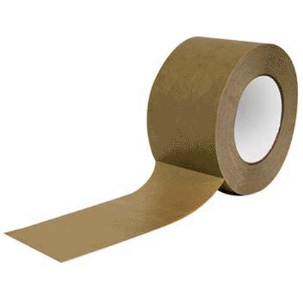 2.83'' X 180' BROWN FLOOR SHELL SEAM TAPE