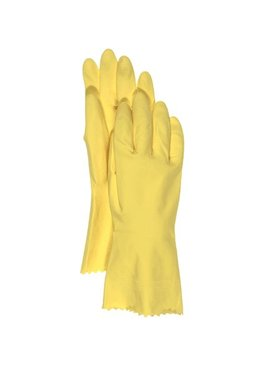 LINED LATEX GLOVE LARGE