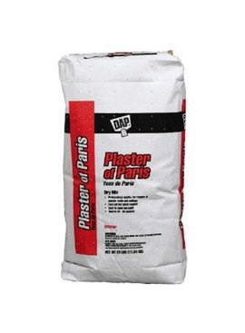 25 LB WHITE DAP PLASTER OF PARIS E/M