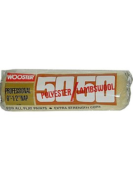 "WOOSTER BRUSH COMPANY 9"" 50/50 1/2"" NAP POLY/LAMBS"
