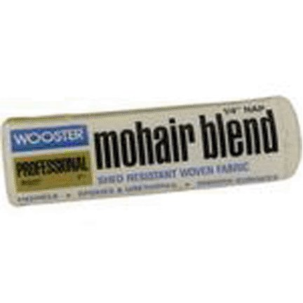WOOSTER BRUSH COMPANY 7'' 1/4'' NAP MOHAIR ROLLER COVER