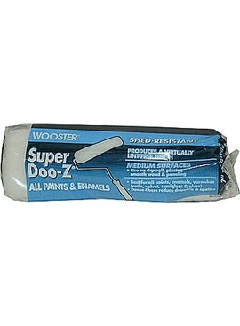 WOOSTER BRUSH COMPANY 7'' SUPER/DOO-Z ROLLER COVER 3/8'' NAP - ALL PAINTS