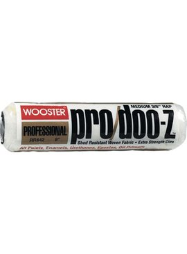 WOOSTER BRUSH COMPANY 9'' PRO/DOO-Z ROLLER COVER 3/8'' NAP - ALL PAINTS