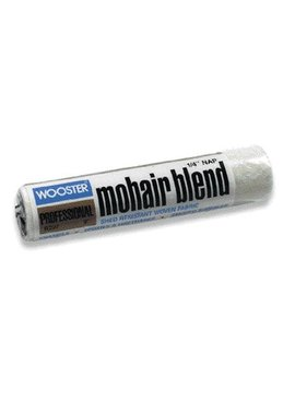 WOOSTER BRUSH COMPANY 9'' MOHAIR BLEND ROLLER COVER 1/4'' NAP - ENAMELS, EPOXIES, URETHANES
