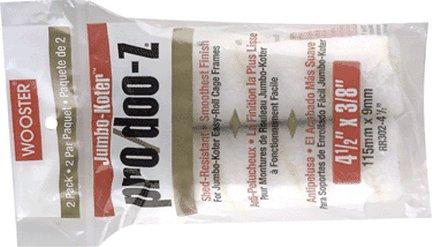 WOOSTER BRUSH COMPANY 4 1/2'' JUMBO-KOTER PRO/DOO-Z ROLLER COVER 3/8'' NAP 2-PK