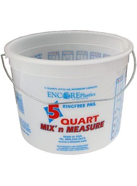 ENCORE 300043 5QT MIX N MEASURE PAIL