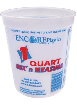 ENCORE 1QT MIX N MEASURE CONTAINER