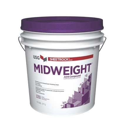 5 GAL MIDWEIGHT JOINT COMPOUND PURPLE TOP