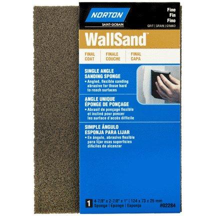 NORTON ABRASIVES Norton 4x2x1 wall sand sponge fine m/f