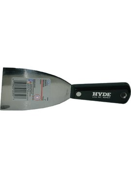 HYDE TOOLS HYDE 02350 3'' BLACK & SILVER FLEX JOINT KNIFE - EACH