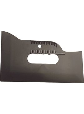 HYDE TOOLS HYDE 09510 5-WAY 3-EDGE (4'', 6'' AND 10'' ) MULTI USE SMOOTHING TOOL