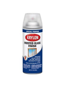 KRYLON PAINTS KRYLON GLASS FROSTING 12OZ