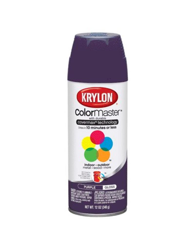 Krylon Gloss Purple 12 Oz