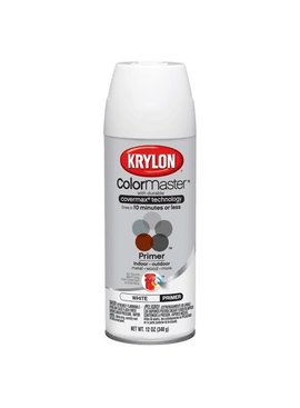 KRYLON PAINTS KRYLON WHITE PRIMER 12OZ