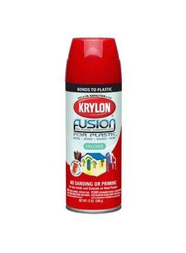 KRYLON PAINTS KRYLON FUSION GLOSS RED PEPPER 12 OZ