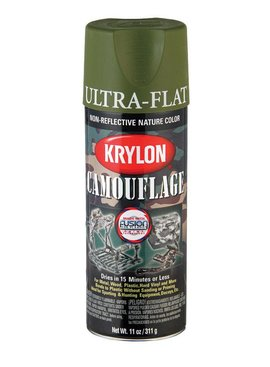 KRYLON PAINTS KRYLON FUSION CAMOUFLAGE LIGHT GREEN  11OZ