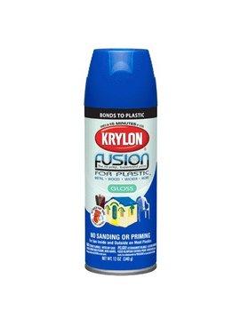 KRYLON PAINTS KRYLON FUSION GLOSS PATRIOTIC BLUE  12OZ