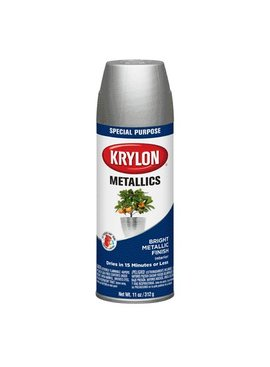 KRYLON PAINTS KRYLON METALIC SILVER 11OZ