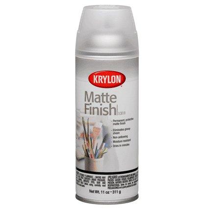 KRYLON PAINTS KRYLON MATTE FINISH SPRAY 13 OZ