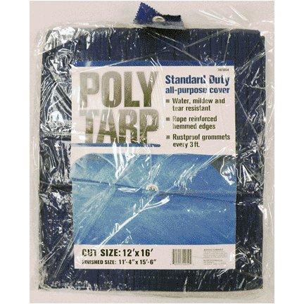 12'X16' BLUE POLYETHYLENE TARP