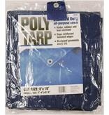 8'X10' BLUE POLYETHYLENE TARP
