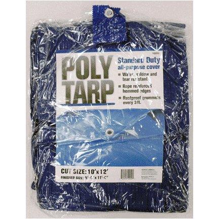 10'X12' BLUE POLYETHYLENE TARP