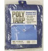 8'X12' BLUE POLYETHYLENE TARP