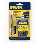 IRWIN 21PC MAGNETIC DRIVE GUIDE SET W/TIC TAC CONTAINER