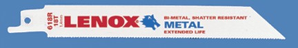 LENOX 6X3/4X.035 18T RECIP SAW BLADE 1/PKG